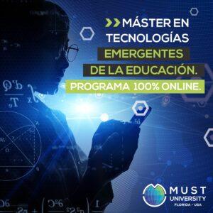 Máster online: tecnologías emergentes de la educación
